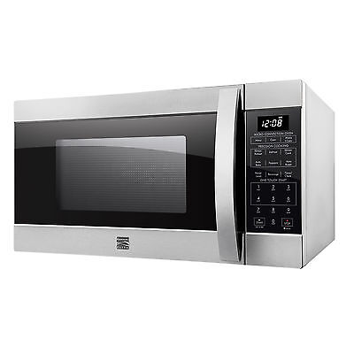 Kenmore Elite 1.5 cu. Countertop Microwave Convection Oven Stainless 77603 Dent