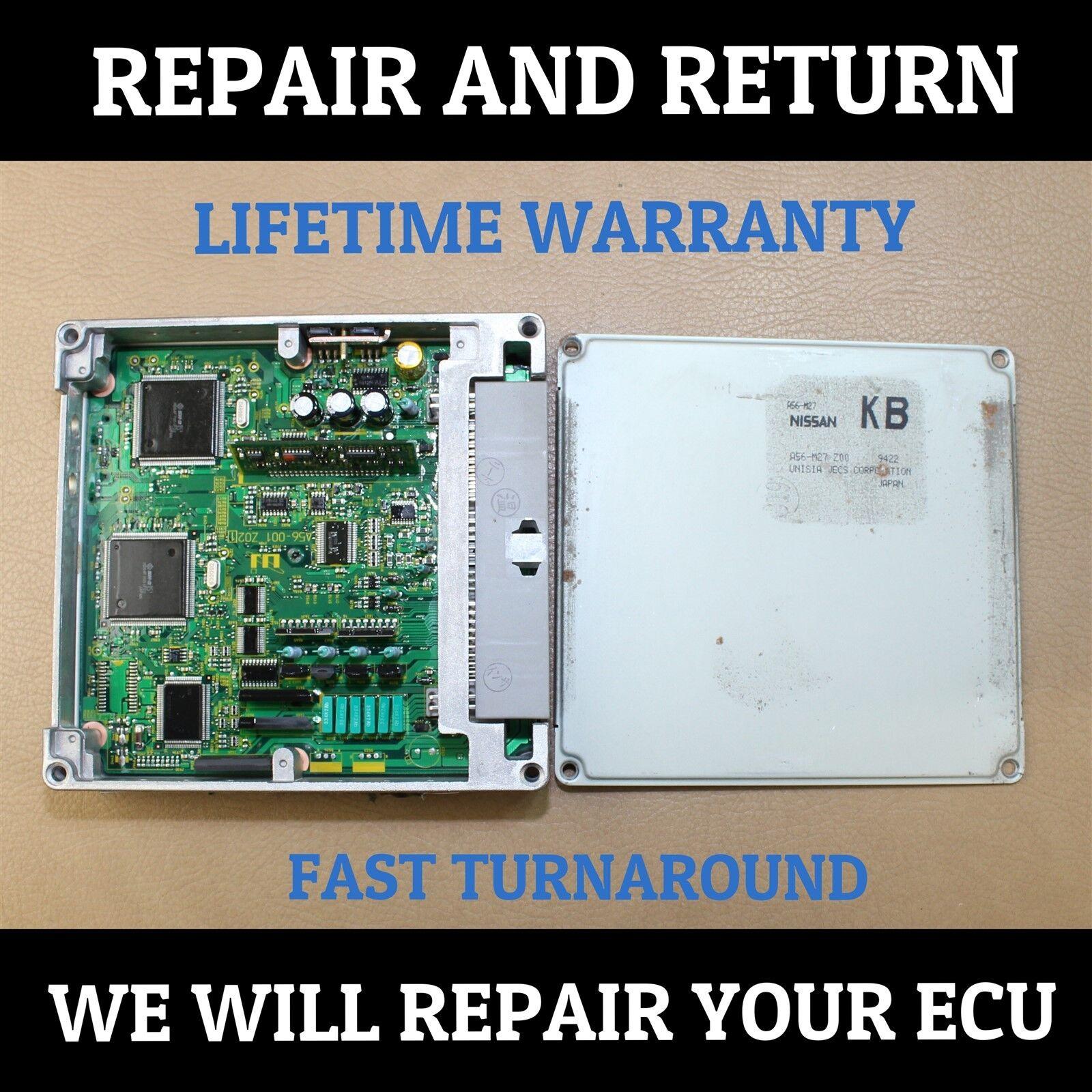 REPAIR SERVICE 00-03 FOR PATHFINDER MAXIMA I30 I35 QX4 ECU ECM ENGINE COMPUTER
