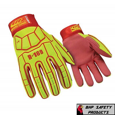 RINGERS GLOVES R-169 IMPACT GLOVE SYNTHETIC LEATHER CUT RESISTANT LEVEL 5 (1 - Leather Cut Resistant Gloves