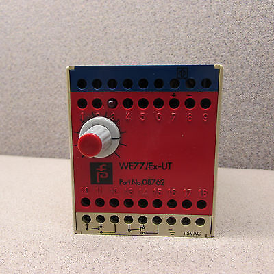 Pepperl Fuchs We77ex-ut Switching Amplifier 115vac 08762