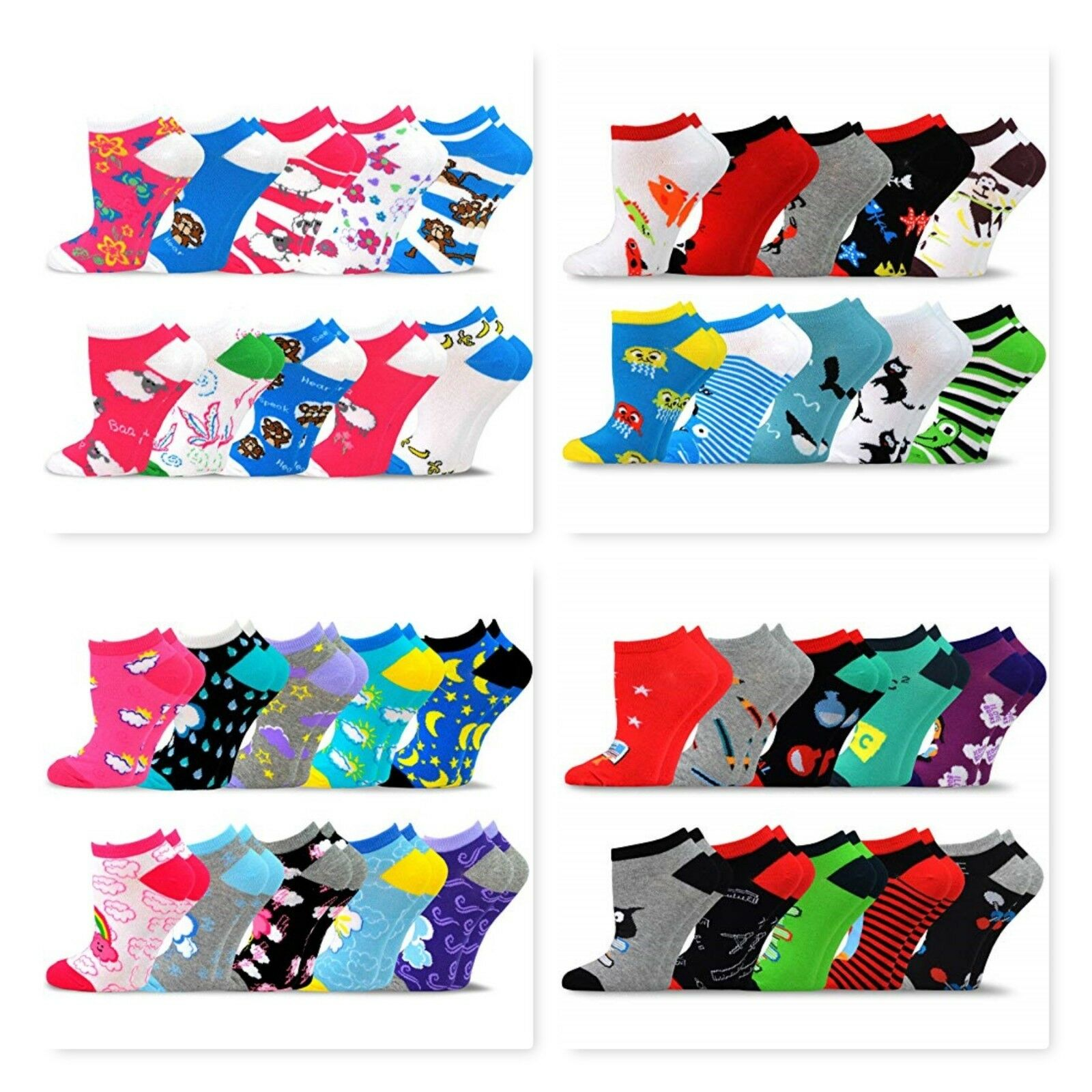 women s valued 10 pack fashion no