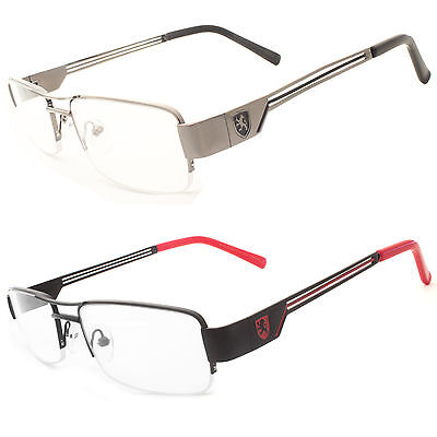 Khan Fashion Retro Unisex Mens Womens Clear Lens Nerd Geek Glasses Eyewear New