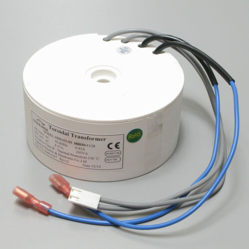 Eaglerise Electric & Electronic 230V to 24V 4.37 Amp 105VA Toroidal Transformer