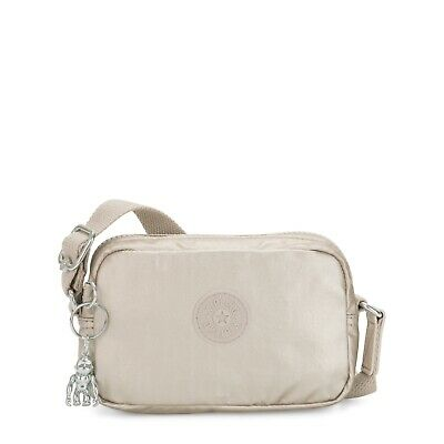 Kipling Small Crossbody SOUTA Shoulder Bag in CLOUD M GIFT Holiday 2019 RRP £48