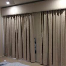 Curtains, pelmet, tracks, brackets & ties Mount Barker Mount Barker Area Preview