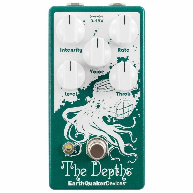 EarthQuaker Devices The Depths Vibrato V2 Effects Pedal