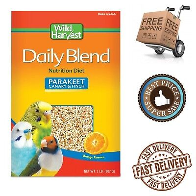 Daily Blend for Parakeet Canary Parrot Finch Food Seeds