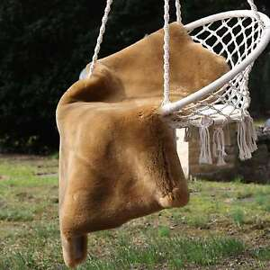 Piel-De-Cordero-Cappuccino-Esquilada-90-100-cm-Merino-Piel-Oveja-alfombra