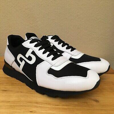 Shoes Black White Patent Leather Premium Rare 27.5 US 9.5  (White Patent)