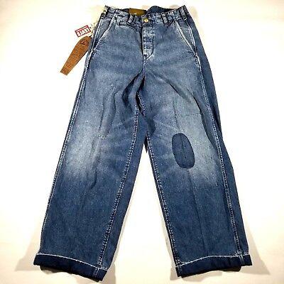 Levi's Vintage Clothing Surf Rider 1920s Balloon Denim Jeans Mens Size 26 Waist](1920s Mens Clothes)