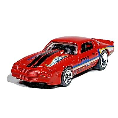 Hot Wheels '81 Camaro Red Car New Models Chevy Tuske 2012 Malaysia Loose