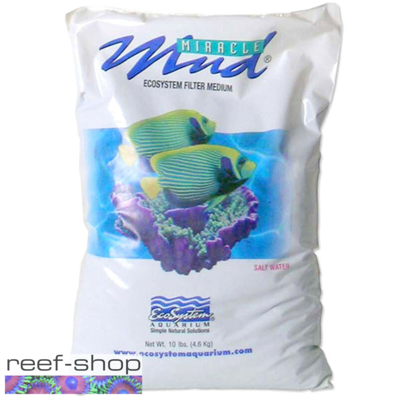 EcoSystem Miracle Mud 10 lb Bag Saltwater and Reef Aquarium Refugium Substrate