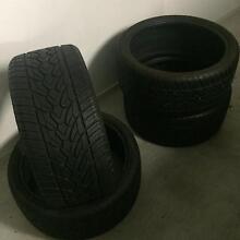 4 x near new Aderenza tyres Marsden Logan Area Preview