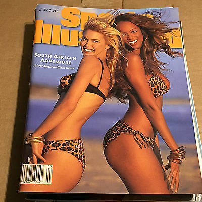 Vintage Bikini Swimsuit 2 Magazine Lot Sports Illustrated Tyra Banks