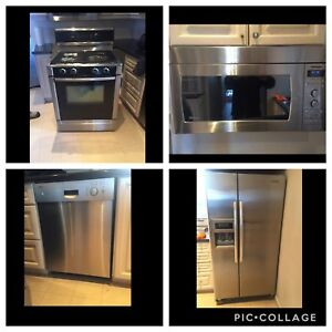 Bosch/KitChen Aid High Brand Appliance SET can DELIVER