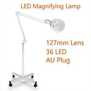 LED Magnifying Lamp 5 X Beauty Skin Care Stand Magnification Lens Hampton Park Casey Area Preview
