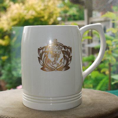 WEDGWOOD Cream COLOURED TANKARD BY KEITH MURRAY C1930