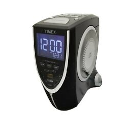 Timex T625B Black Nature Sounds Auto-Set CD Stereo Clock Radio with AM/FM / USED