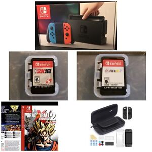 Nintendo Switch & Gaming Kit + 3 Games!! Paid Over 850$!!