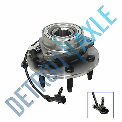 Front Wheel Bearing & Hub Assembly GMC Sierra Chevy Silverado 1500 4x4 6 lug (4x4 Wheel Hub Bearing)