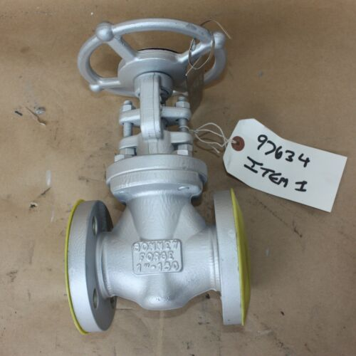 "BONNEY FORGE 133517-0004 1"" INCH flanged gate valve DN25 25mm WCB Class 150"
