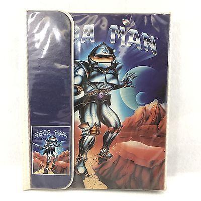 Vintage 80s Trapper Keeper Mead Rare Mega Man Action Space Age Binder