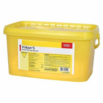 Virkon S Disinfectant Swine Kennel Poultry Equine Barns Equipment 10 Pounds