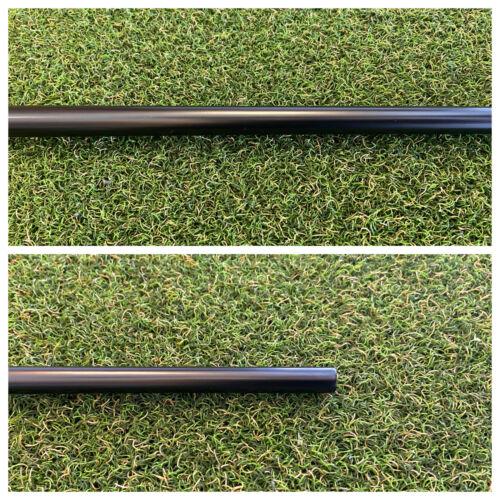 "Custom Matte Black .355 Straight Stepless Putter Shaft - Fits Scotty Cameron 35"""