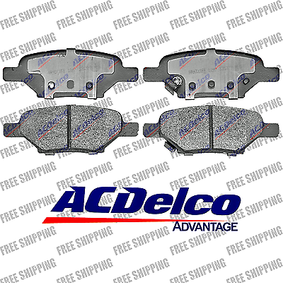 Brake Pad Ceramic Rear ACDelco Advantage 14D1033CH Chevrolet Malibu HHR Cobalt