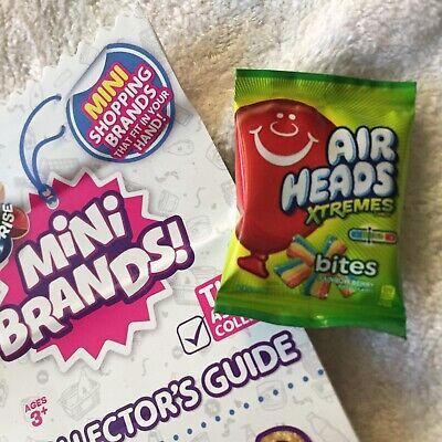 Zuru 5 Surprise Mini Brands AIRHEADS Extreme Candy Air Heads Dollhouse Miniature - Airhead Extreme