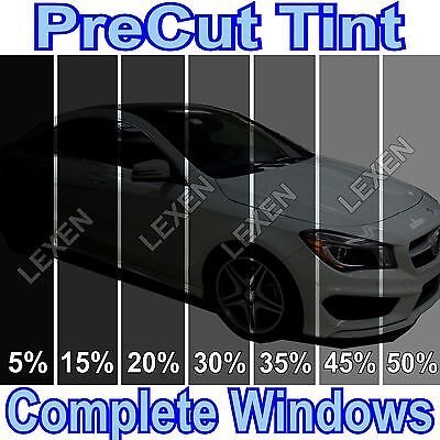 ALL PRECUT 2PLY DYED WINDOW TINT KIT COMPUTER CUT GLASS FILM CAR ANY SHADE e