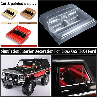 Ford Electrical Parts - DIY Simulation Car Interior Decoration Parts For 1/10 Traxxas TRX4 Ford Bronco