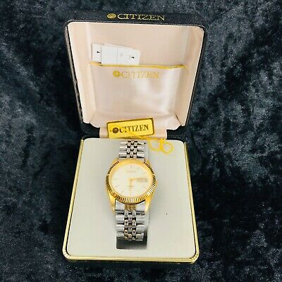 Vintage CITIZEN Automatic 21 Jewel Wrist Watch Boxed Working