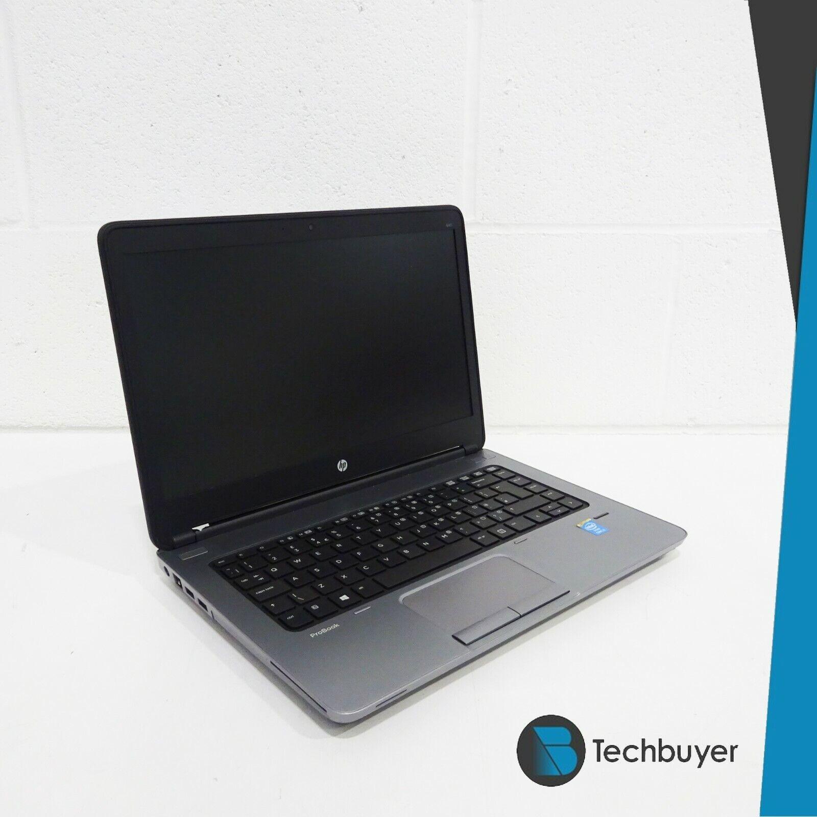 Laptop Windows - HP ProBook 640 G1 i3 4000M 16GB RAM 500GB HDD Windows 10 PC