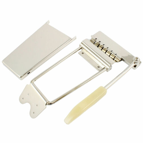Long Vibrato /Tremolo Lyre Vibrola with Arm & Cover for Gibson® Guitars - NICKEL