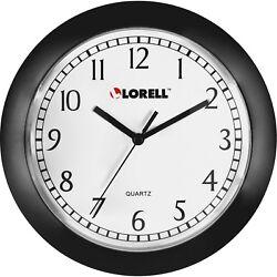 Lorell 60987 Round Profile Wall Clock - Quartz New