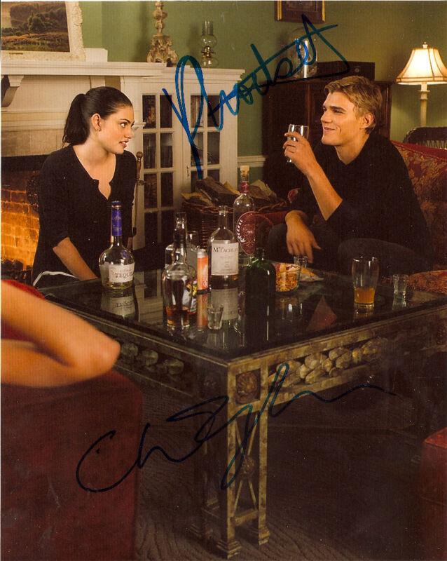 Secret Circle Phoebe Tonkin Chris Zylka Autographed Signed 8x10 Photo COA