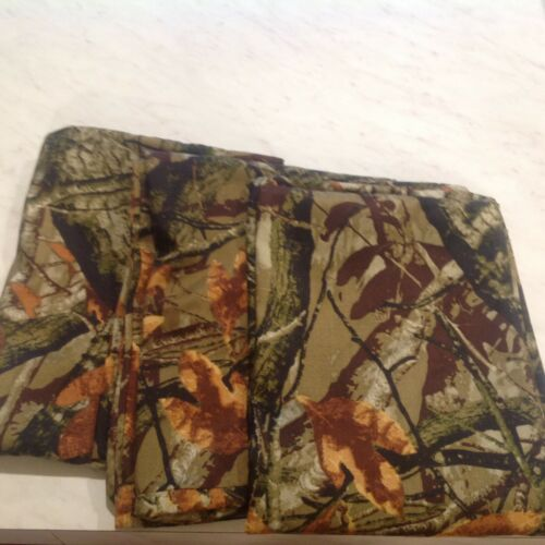 3 Mainstays Camo Forest Microfiber Pillowcase Camouflage Pillowcases Standard
