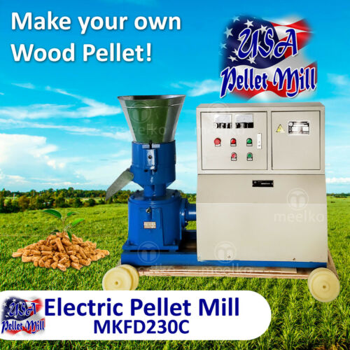 Electric Pellet Mill For Wood - MKFD230C - USA
