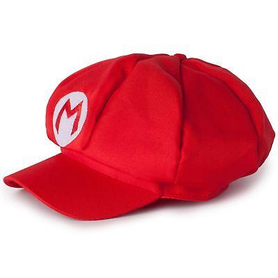 Katara - Super Mario Cap - Red unisex costume hat for adults or children (One...