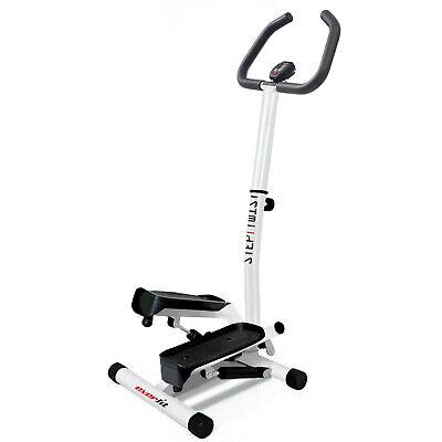 Mini stepper con manubrio STEP TWIST movimento laterale, peso max utente 100 kg.