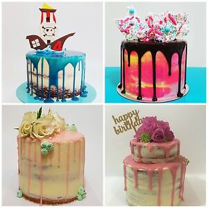 Custom Fondant and naked cakes Rhodes Canada Bay Area Preview