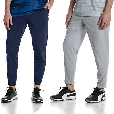 Puma Golf Mens Golf Jogger Bottoms Cropped Trouser Pants 43% OFF RRP