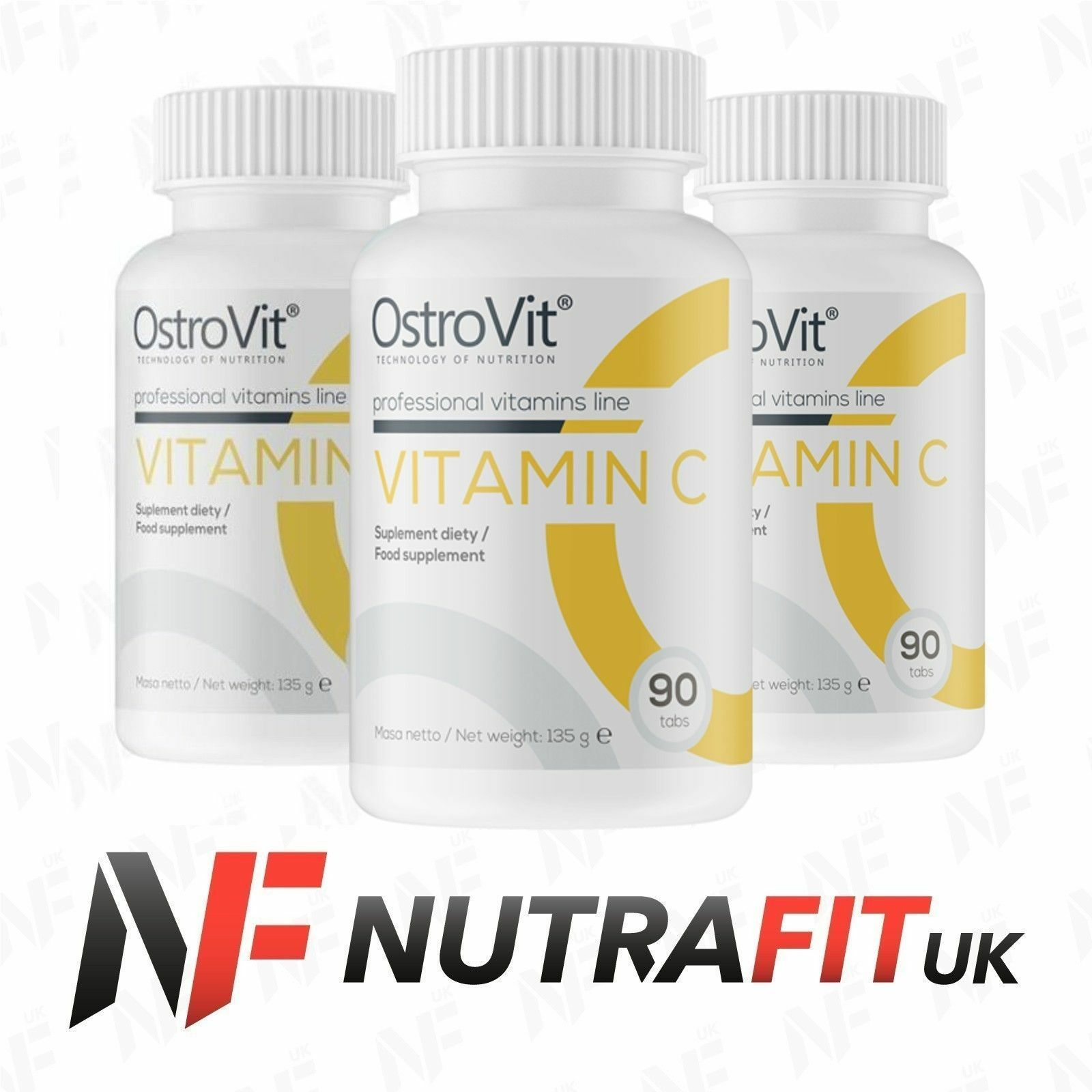 OSTROVIT VITAMIN C immune system antioxidant tiredness fatigue reduction vit C