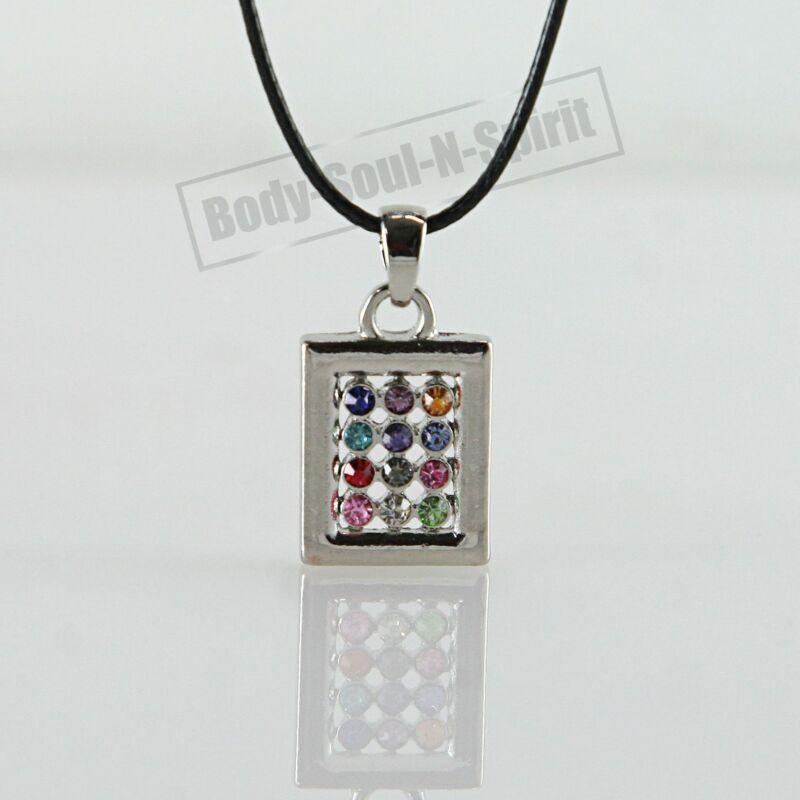 Messianic Hoshen Shield Necklace Jewish 12 tribes Amulet Pendant karma Jewelry