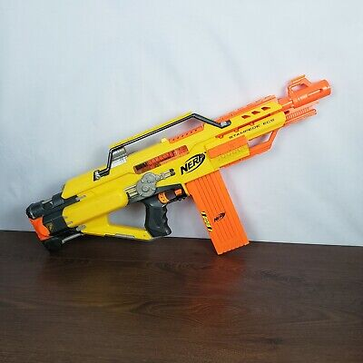 Nerf Stampede ECS N-Strike Automatic Blaster Dart Gun - Battery operated