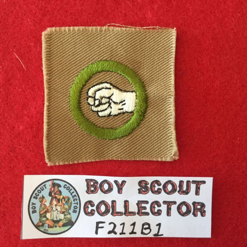 Boy Scout Square Merit Badge Physical Development