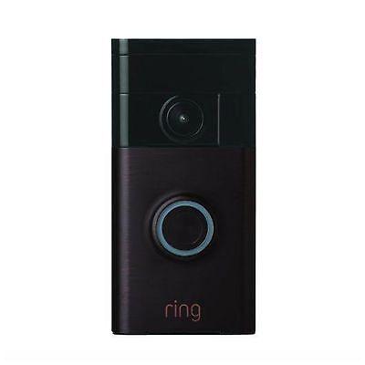 Ring - Wi-fi Smart Video Doorbell - Venetian Bronze