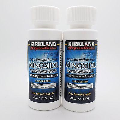 KIRKLAND MINOXIDIL 5% MENS HAIR LOSS TREATMENT 2 MONTHS Exp 11/2020 | NO DROPPER