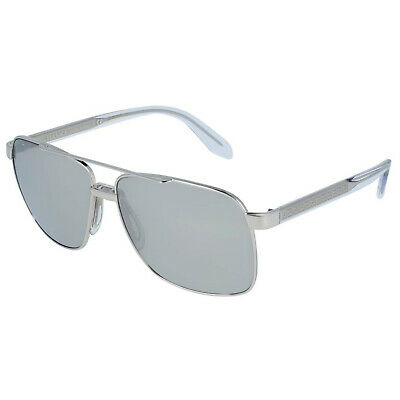 NEW VERSACE VE2174 10006G SILVER/GREY AUTHENTIC SUNGLASSES 59-145
